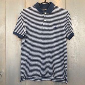 Brooks Brothers Slim Fit Feeder Stripe Polo Shirt